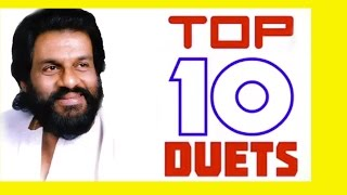 Top 10 Duets of Yesudas | Tamil Movie Audio Jukebox