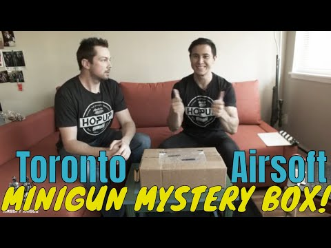 MiniGun Mystery Box from Toronto Airsoft! DO WE WIN BIG?