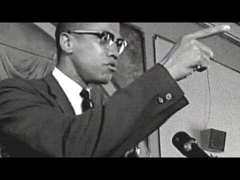 Malcolm X's Fiery Speech Addressing Police Brutality