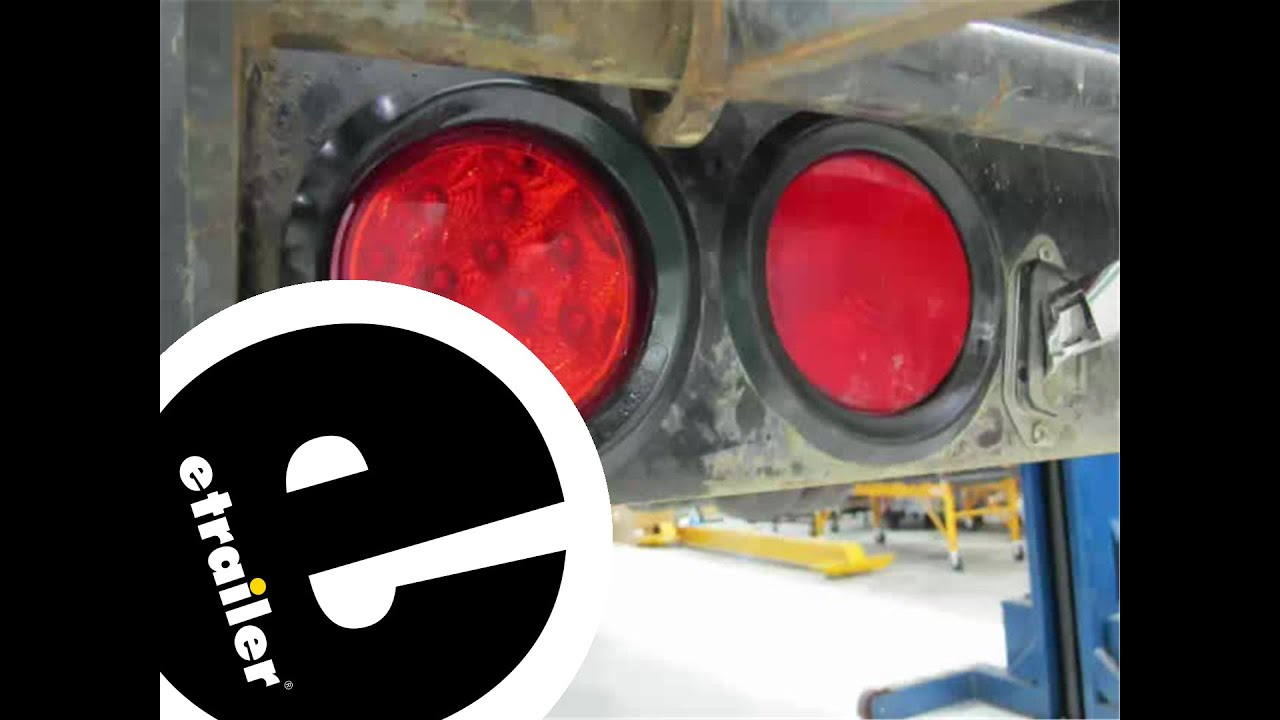 Optronics Red LED Trailer Stop, Turn and Tail Light Installation -  etrailer com