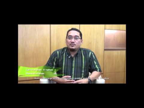 Testimoni Spirulina Organik: Zaid Harithah (Masalah Alahan)
