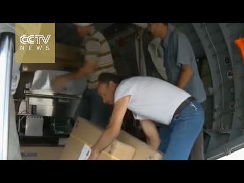 Damascus receives first European aid