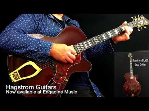Hagstrom HL550 Jazz Guitar Engadine Music