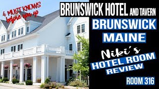 Brunswick Hotel and Tavern - 4 Things to know - Hotel Review room 316