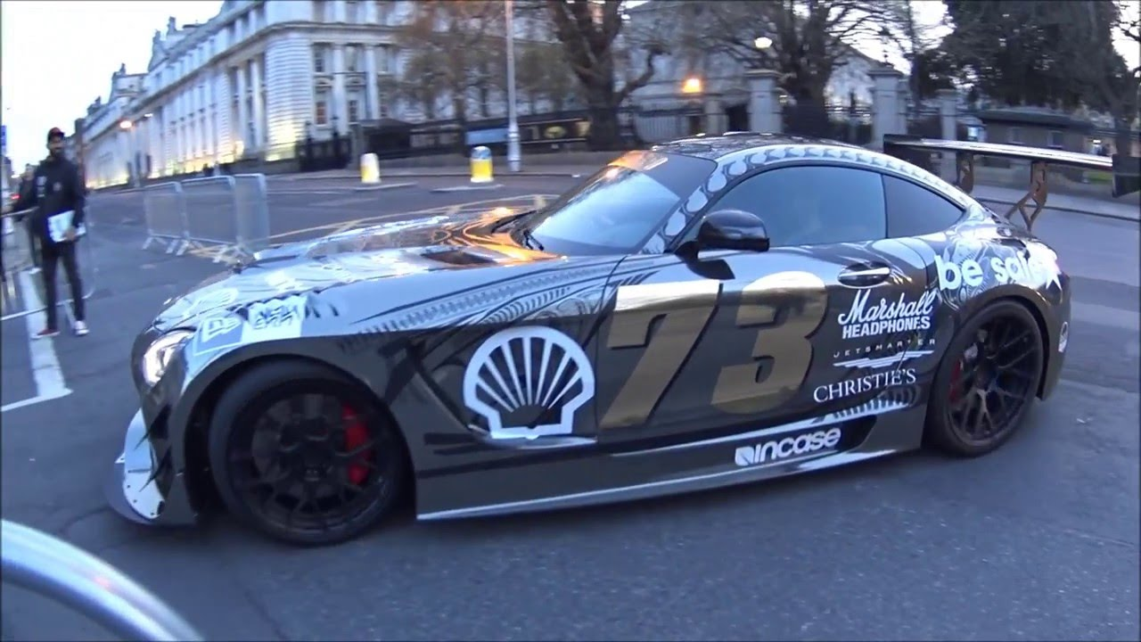 team galag surprise mercedes amg gt3 batmobile seb delanney gumball 3000 2016 vlog. Black Bedroom Furniture Sets. Home Design Ideas