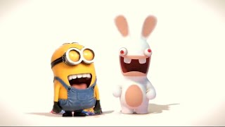 Despicable Me: Minions Rush vs Rabbids Crazy Rush: All Outfits