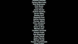 Mass Effect - Credits