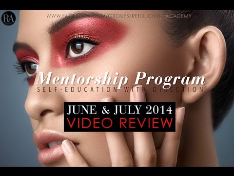 Retouching Academy: June & July 2014 Mentorship Program Subm