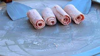 ТОП 1 приготовления ЖАРЕНОГО МОРОЖЕНОГО!  :  Top 1 cooking FRESH ICE-CREAM!