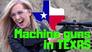 Irish Girl Tries shooting GUNS in AMERICA For the First Time