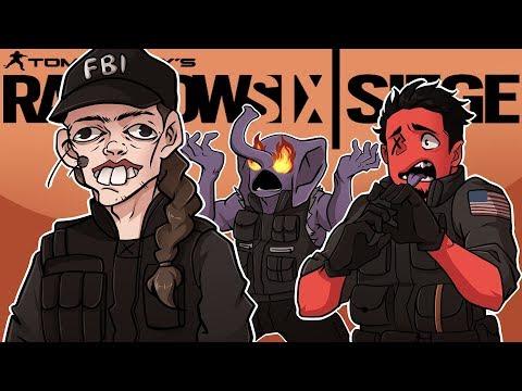 ASH'S ELITE SKIN IS...HIDEOUS! | Rainbow Six: Siege (w/ Gorillaphent) R6 Operation Chimera TTS