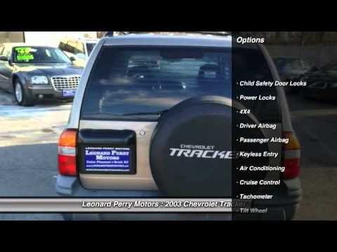 2003 chevrolet tracker zr2 4 door 4wd point pleasant beach for Leonard perry motors nj