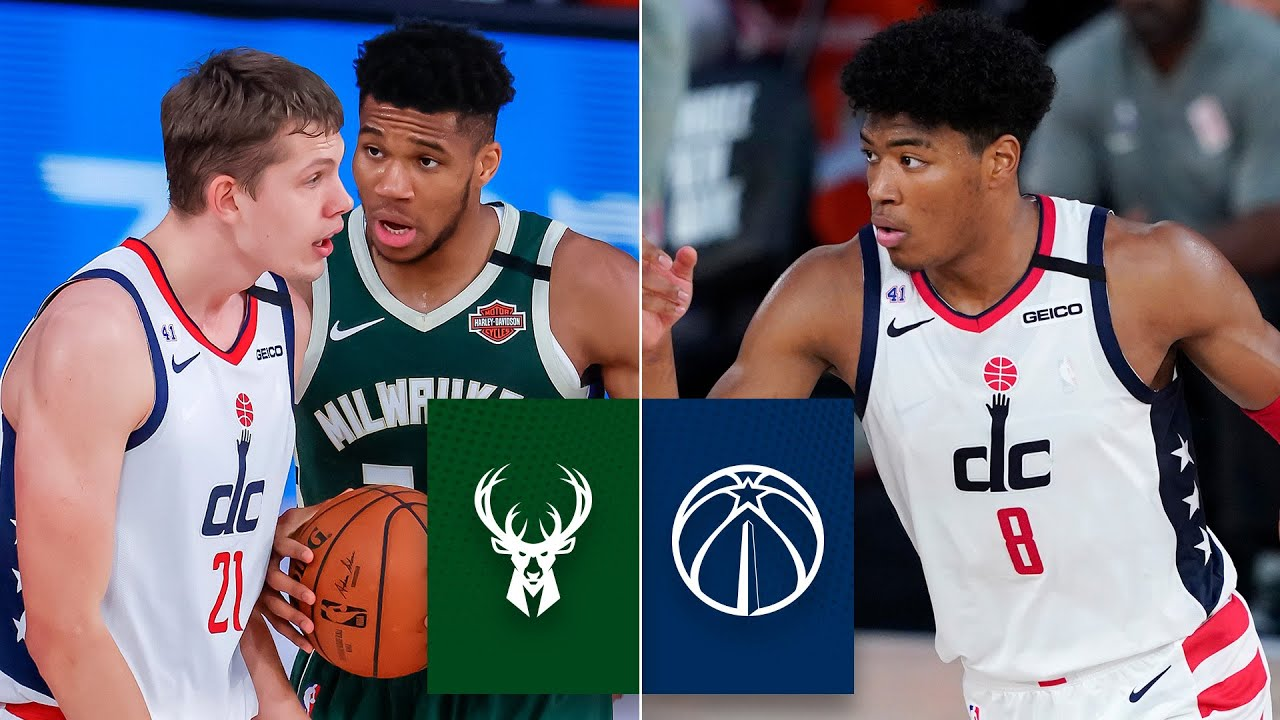 Milwaukee Bucks vs. Washington Wizards [FULL HIGHLIGHTS] | 2019-20 NBA Highlights