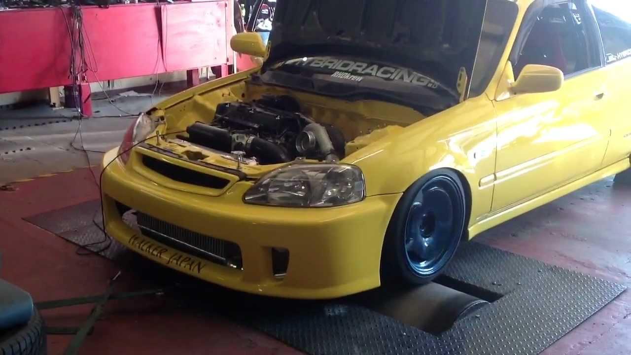 K20 Civic Type R Turbo EK9 - YouTube