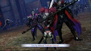 Samurai Warriors 4: Empires Oda Clan Conquest Mode Part 2 - The Scourge of Central Japan