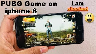 iphone 6 PUBG Game play time (I am Shocked)😱😱