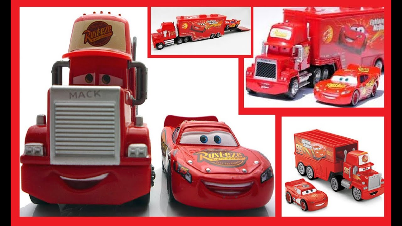 Disney Pixar Cars Lightning McQueen & MACK Mack Superliner Truck & What it  is worth