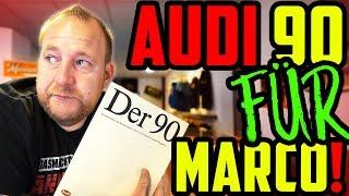 Ein ganz besonderes GESCHENK! - Audi 90 2.3E 5Zylinder! - Zurück in die Vergangenheit!