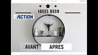 IDEES DECO ACTION, cuisine, Avant / Après
