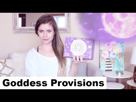 Goddess Provisions Jan 2018 Unboxing! Vegan, Cruelty Free & Spiritual box
