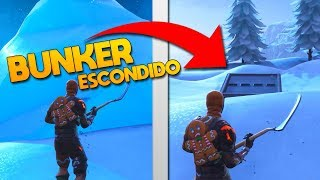 I ENTERED THE NEW SECRET ICE BUNKER! Fortnite