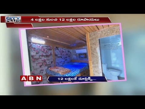Mobile fabricated duplex house for just 12 lakhs | ABN Telugu