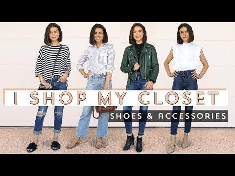I Shop My Closet: Shoes & Accessories  Ingrid Nilsen