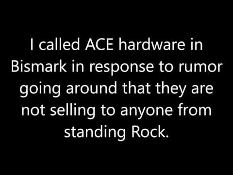 Call to Bismarck ACE hardware ask if they were denying propane