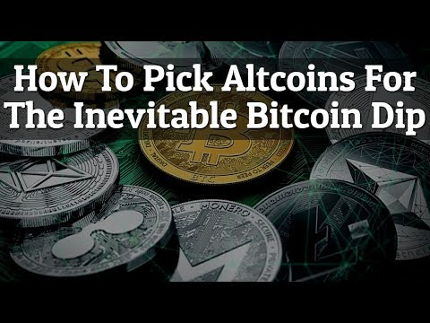Picking AltCoins For The Inevitable Bitcoin Dips! Which Coins Perform Best?