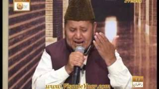 PUNJABI NAAT(Lagiyan Ne Mojan)AKHTAR QURESHI IN QTV.BY Visaal