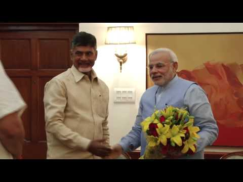 Andhra CM calls on PM