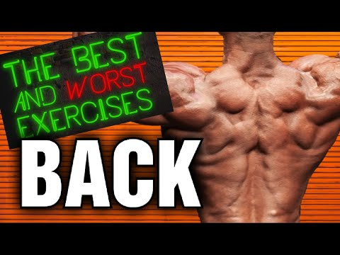 Best and Worst Exercises For Your BACK!!!