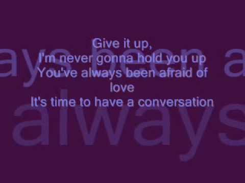 Texas -The Conversation  ♪ ♫ lyrics