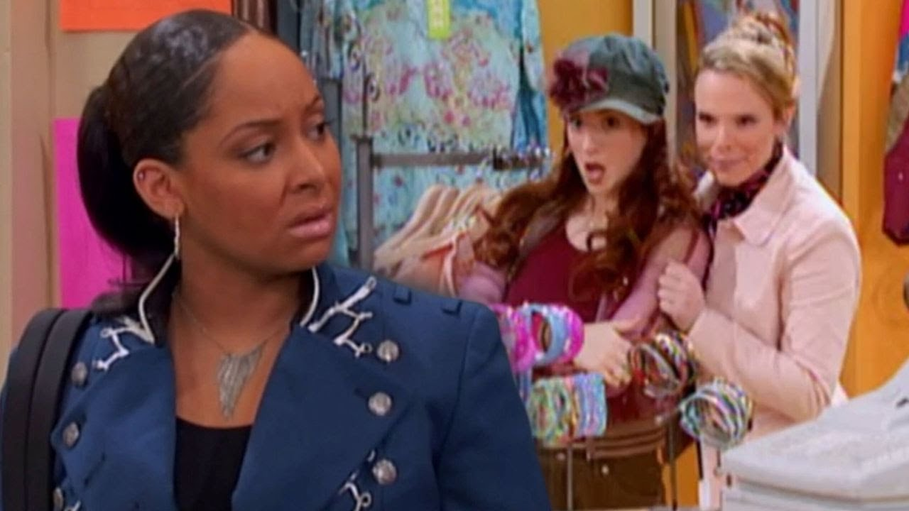 The 'That's So Raven' When They Battled Racism At The Mall