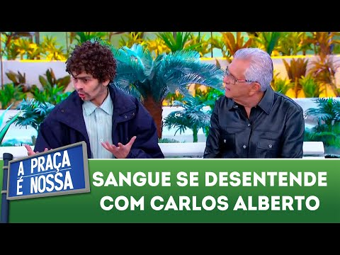 Sangue se desentende com Carlos Alberto | A Praça é Nossa (23/08/18)
