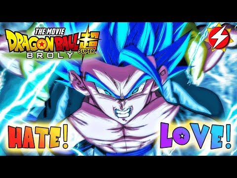 What I HATED And LOVED About Dragon Ball Super: Broly Movie (NO SPOILERS REVIEW)