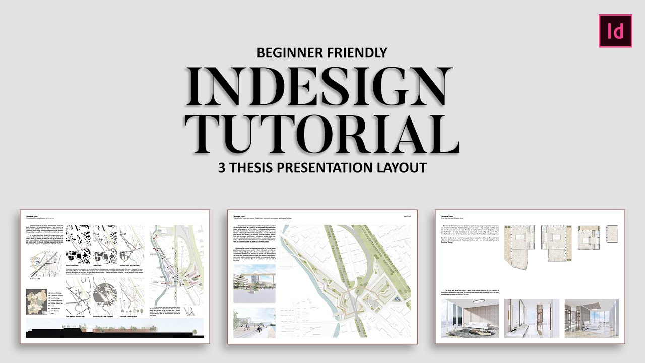 3 Architecture Presentation Boards Layouts + FREE Templates - YouTube