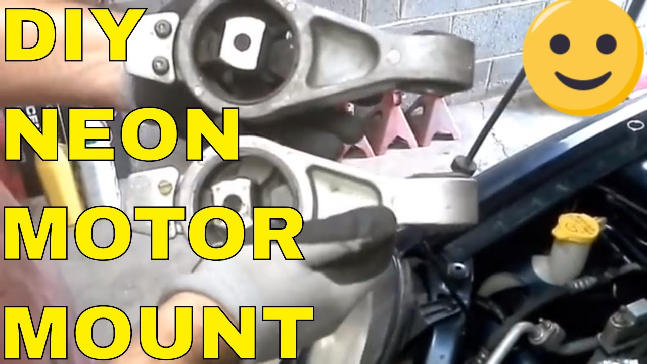 how to replace a neon motor mount youtube dodge neon engine mount diagram [ 1280 x 720 Pixel ]