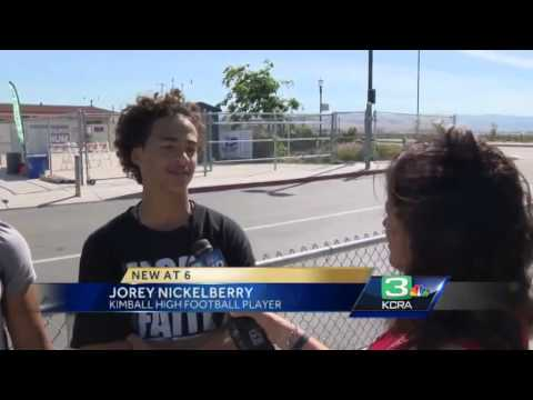 Turf controversy brews at Tracy high school field