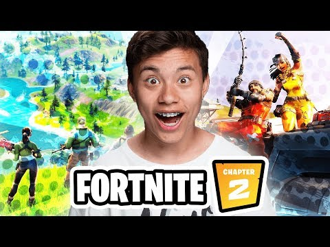 EvanTube Reacts To FORTNITE CHAPTER TWO! (I'm In The Game!)