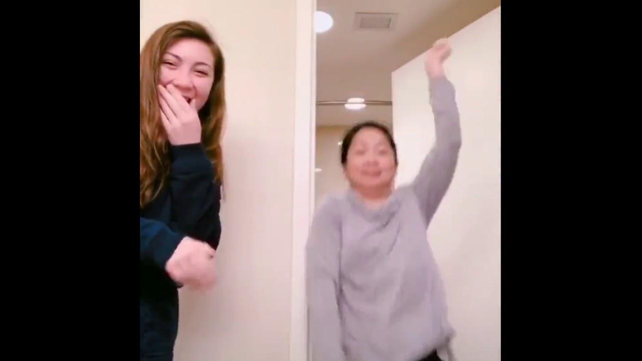 Tik Tok Mom Challenge| Santa Tell Me + My Neck My Back Remix #tiktokmom #momtiktok - YouTube