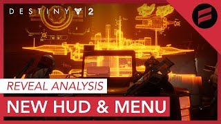 Destiny 2 - New Heads Up Display and New Features Hinted by Menu Layout