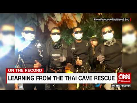 On the Record: Lessons from the Thai cave rescue