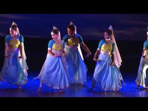 Ganga, the sacred spirit, Uday Shankar Style based choreography by the Hritaalians.