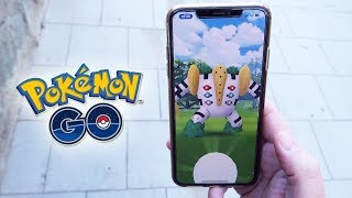 ¡INCREÍBLE mi PRIMER REGIGIGAS de INCURSIÓN EX en Pokémon GO!! [Keibron]