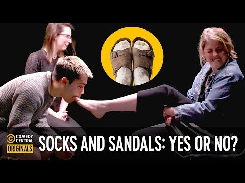 Are Socks With Sandals Ok? - Agree To Disagree