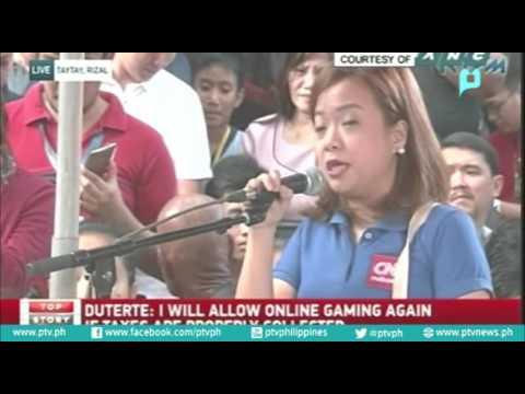 Pagbisita ni Pangulong Rody Duterte sa burol ni P/Insp. Mark Gil S. Garcia