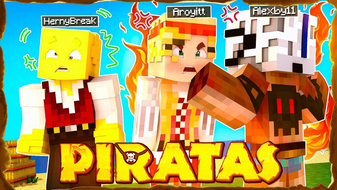 Después de esto Herny tendrá que ir a terapia 🤣 Minecraft Piratas Aroyitt