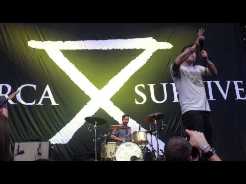 Circa Survive- Intro Oh. Hello Live Rockstar Uproar Mayhem Festival