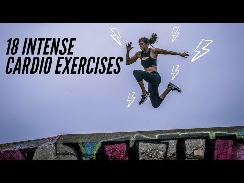 18 Intense Cardio Exercises | Exercises for HIIT
